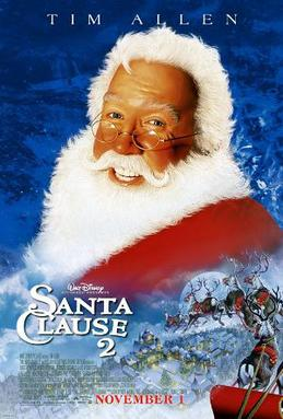 Film poster for The Santa Clause 2 - Copyright...