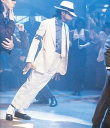 Michael Jackson in Smooth Criminal...