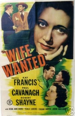 Wife Wanted (1946 film)