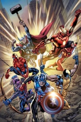 """The """"Heroic Age"""" roster of the Aveng..."""