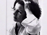 Zahra Kazemi shown before her arrest.