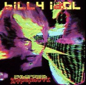 Cover of Billy Idol's album Cyberpunk.