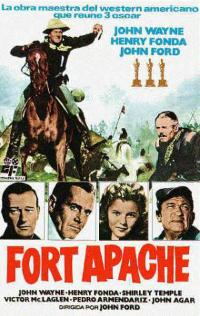 Fort Apache film poster; courtesy of Wikipedia.