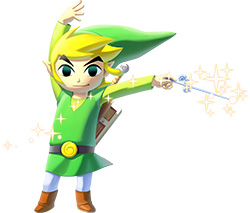 Link, as depicted in The Legend of Zelda: The ...