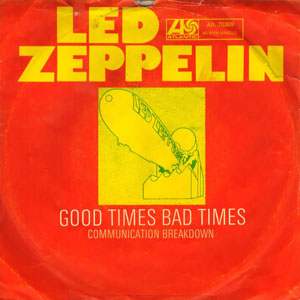Good Times Bad Times album cover by Led Zeppelin