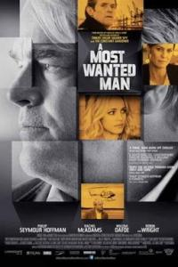 Poster for 2014 espionage thriller A Most Wanted Man