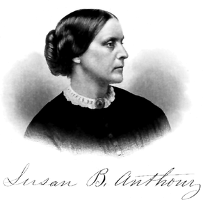 Public relations portrait of Susan B. Anthony ...