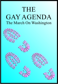 Cover of DVD The Gay Agenda: March on Washington