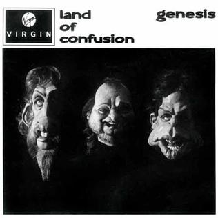 "The music video for ""Land of Confusion&qu..."