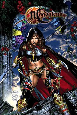 Cover of Magdalena TPB by Basaldua