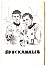 The Star Trek fanzine Spockanalia contained th...