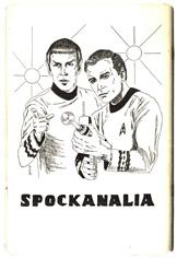 The Star Trek fanzine Spockanalia contained th...