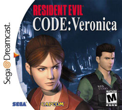 Resident Evil Code Veronica Dreamcast cover