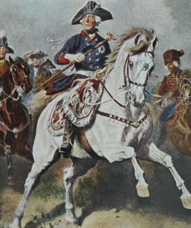 Frederick the Great during the Seven Years' Wa...