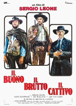 The poster of the 'The Good the bad and the ugly' Movie