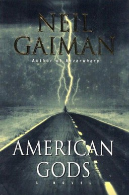 Book cover, American Gods