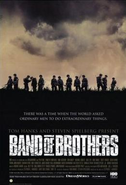 Promotional poster for Band of Brothers.
