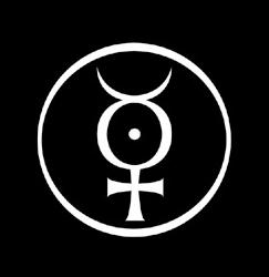 Marilyn Manson's alchemical mercury logo, whic...