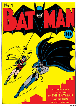 Batman #1 (Spring 1940). Art by Bob Kane and J...