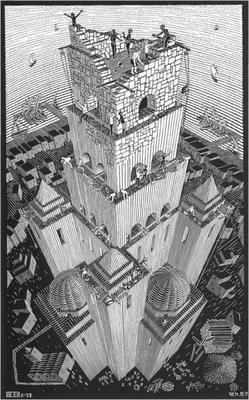 MC Escher Tower of Babel