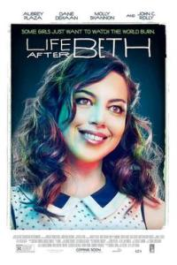 Poster for 2014 horror romcom Life After Beth