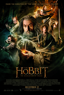 File:The Hobbit - The Desolation of Smaug theatrical poster.jpg