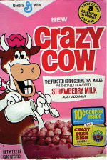 Strawberry Crazy Cow box.