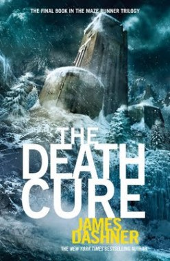 Image result for the death cure book cover