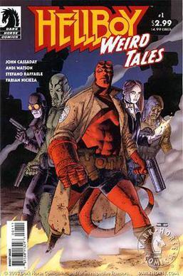 Hellboy Weird Tales Wikipedia