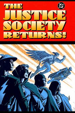 The Justice Society Returns