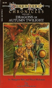 """The Cover of """"Dragons of Autumn Twilight"""""""