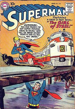 Superman #123: Super-Girl. Art by Curt Swan.