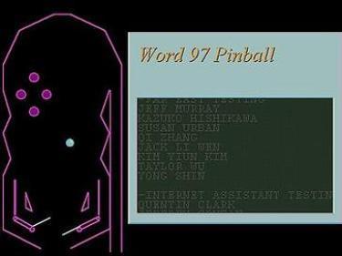 Word97pinball   GrecTech