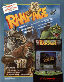 Rampage (arcade game)