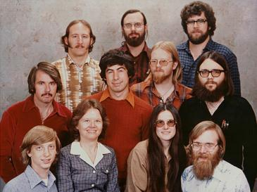 Microsoft at the beginning in 1978 in Albuquerque