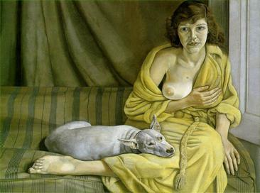 Girl with a White Dog, 1950-1