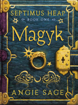 "cover - ""Septimus Heap, Magyk"" by Angie Sage"