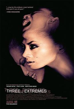 """Theatrical release poster for """"Three... Extremes"""""""
