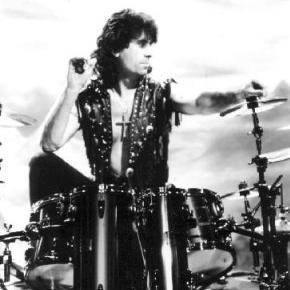 Cozy Powell in Black Sabbath.