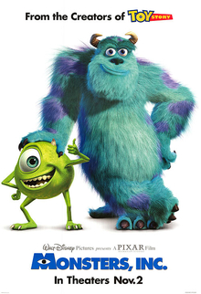 Monsters inc. film poster