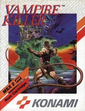 Vampire Killer MSX2 cover art