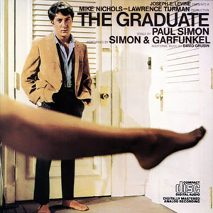The Graduate Original Soundtrack album cover.