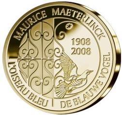 Maurice Maeterlinck commemorative coin