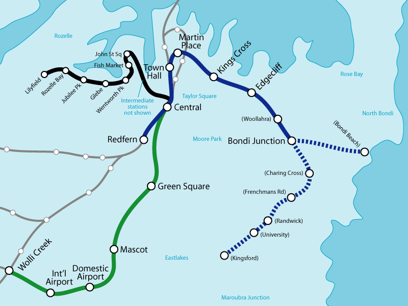 Eastern Suburbs Line extension proposals