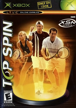 Top Spin Video Game