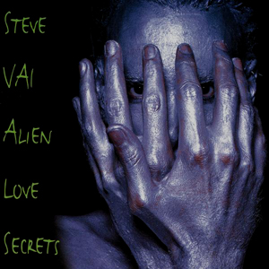 Steve Vai Alien love secret logo album