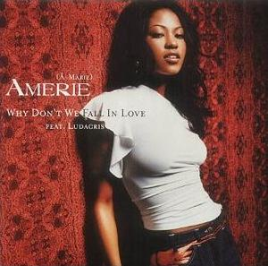 Amerie - Why Don't We Fall In Love - UK CD single
