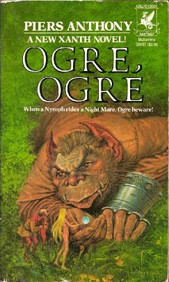 Cover of Ogre, Ogre, the fifth book in the Xanth series by Piers Anthony