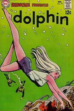 The DC Comics character Dolphin, created by Pi...