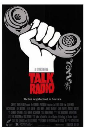 Film poster for Talk Radio - Copyright 1986, U...